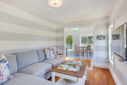 West Dennis Cape Cod vacation rental - Family Den off of Living Room