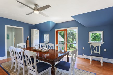 West Dennis Cape Cod vacation rental - Entertaining Dining Room with views!