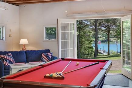 West Dennis Cape Cod vacation rental - Game Room!
