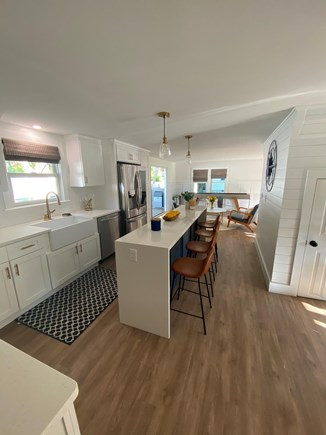 East Dennis Cape Cod vacation rental - Kitchen with 8 foot isalnd