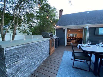East Dennis Cape Cod vacation rental - Outdoor Kitchen