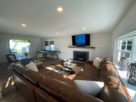 East Dennis Cape Cod vacation rental - Spacious, bright living area
