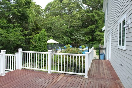 Yarmouth Port Cape Cod vacation rental - Keep an eye on the pool from up here