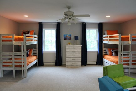 Yarmouth Port Cape Cod vacation rental - Bunk room and kids' hideout. There are six twin beds here.