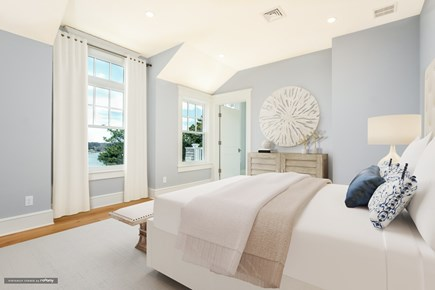 Chatham, Crows Pond and Pleasant Bay Cape Cod vacation rental - Second Floor Queen bedroom suite with balcony