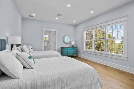 Chatham, Crows Pond and Pleasant Bay Cape Cod vacation rental - Bedroom suite with 2 double beds,full bath,and stunning views
