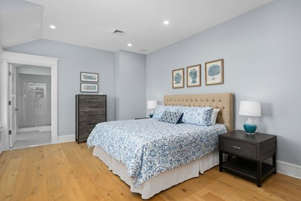 Chatham, Crows Pond and Pleasant Bay Cape Cod vacation rental - King bedroom suite overlooking Crow's pond