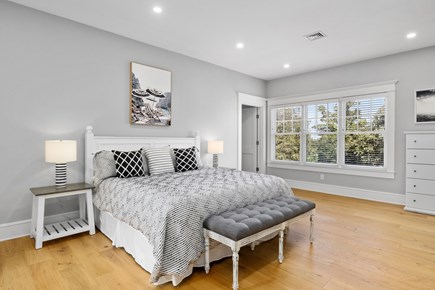Chatham, Crows Pond and Pleasant Bay Cape Cod vacation rental - King bedroom suite with stunning views from all windows