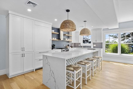 Chatham, Crows Pond and Pleasant Bay Cape Cod vacation rental - Second full poolside kitchen