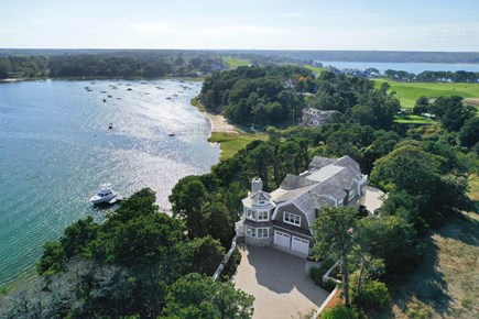 Chatham, Crows Pond and Pleasant Bay Cape Cod vacation rental - Private Beach, Dock, Hot Tub and Pool with views from every room