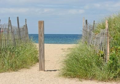 Falmouth Cape Cod vacation rental - Famous Woodneck Beach - 2 min drive! Or walk to our private beach
