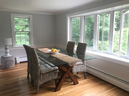 Falmouth Cape Cod vacation rental - Open & Airy Dining Overlooks Beautiful Backyard