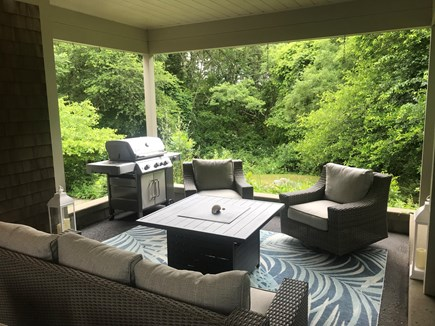 Falmouth Cape Cod vacation rental - Covered Porch for Grilling and Relaxing