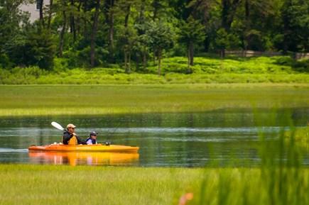 East Sandwich Cape Cod vacation rental - Drop your kayak right into Scorton Creek