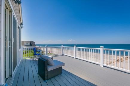 East Sandwich Cape Cod vacation rental - Upper Level Deck off Master Bedroom