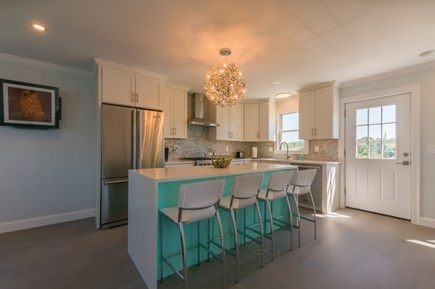 East Sandwich Cape Cod vacation rental - Kitchen with island seating