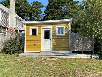 Eastham Cape Cod vacation rental - Storage shed with outdoor games ready for your lazy afternoons.