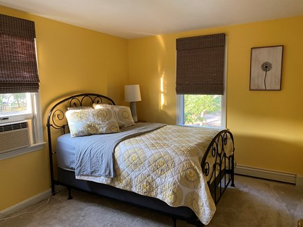 Eastham Cape Cod vacation rental - Sunny bedroom with full size mattress.