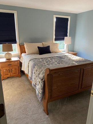 Eastham Cape Cod vacation rental - Master bedroom with new queen mattress and large closets