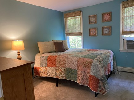 Eastham Cape Cod vacation rental - Beachy bedroom with a new queen mattress