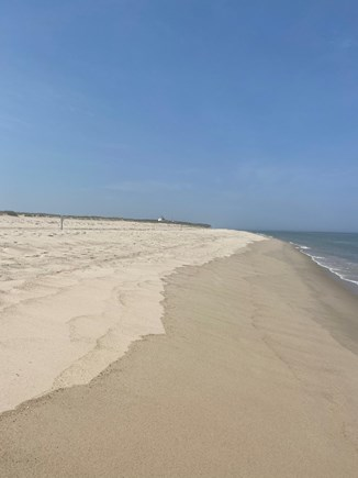 Eastham Cape Cod vacation rental - Coast Guard Beach with the station in the distance.