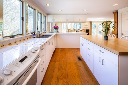 Orleans Cape Cod vacation rental - Kitchen with seating for three at the Island