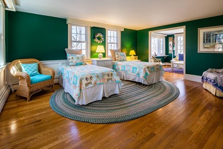 Orleans Cape Cod vacation rental - Main Level Bedroom with Twins