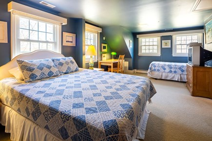 Orleans Cape Cod vacation rental - Queen Bedroom with a single twin