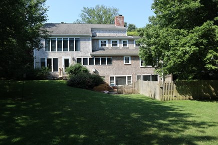 Orleans Cape Cod vacation rental - Back of the house shows it's size