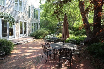 Orleans Cape Cod vacation rental - Spacious Patio- there are two new picnic tables in place as well