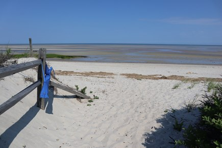 Orleans Cape Cod vacation rental - The beach at low tide- So close by!