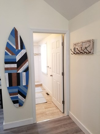 Hyannis Cape Cod vacation rental - Hang Ten On Your Way To The Bathroom