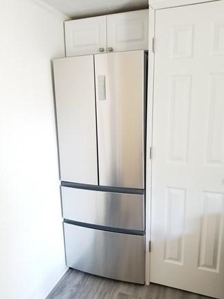 Hyannis Cape Cod vacation rental - Refrigerator and Washer/Dryer Closet