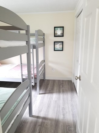 Hyannis Cape Cod vacation rental - Guest Bedroom with 2 Bunk Beds