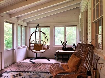 Barnstable, Cummaquid Cape Cod vacation rental - Wonderful Three-Season Room facing side yard