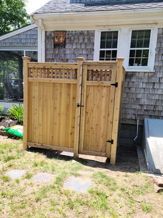 Yarmouthport Cape Cod vacation rental - Outdoor shower!