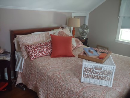Yarmouthport Cape Cod vacation rental - Queen upstairs bedroom.