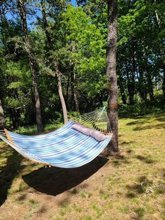 Yarmouthport Cape Cod vacation rental - Relax on hammock for two!
