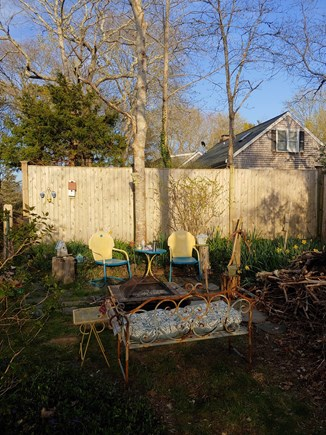 Yarmouthport Cape Cod vacation rental - Listen to the birds on the patio.