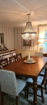 Yarmouthport Cape Cod vacation rental - Dining room seats at least 8!