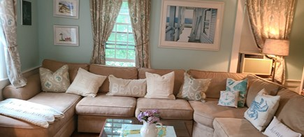 Yarmouthport Cape Cod vacation rental - Huge comfy sectional!