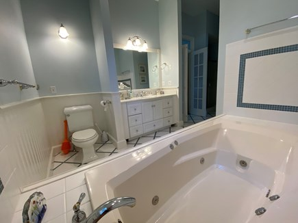 Chatham Cape Cod vacation rental - Master Bath with additional sink and shower not pictured