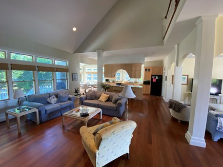 Chatham Cape Cod vacation rental - Great room entertainment area