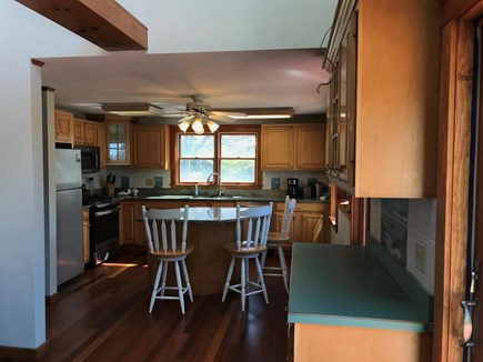 East Falmouth Cape Cod vacation rental - Downstairs kitchen area.