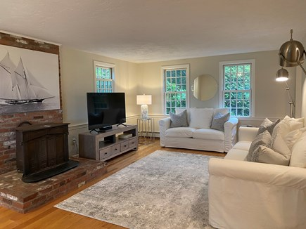 East Sandwich Cape Cod vacation rental - Plenty of seating on these plush sofas