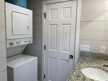 East Sandwich Cape Cod vacation rental - 2nd bathroom with laundry
