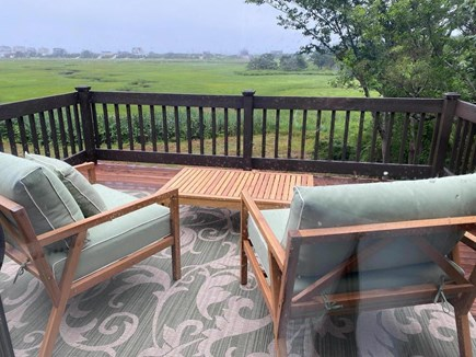 East Sandwich Cape Cod vacation rental - Master Bedroom Deck With Bay Views!