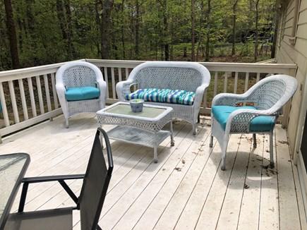 Centerville Cape Cod vacation rental - Deck