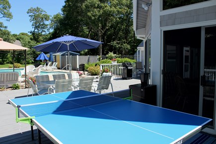 Brewster Cape Cod vacation rental - Ping pong by the pool anyone?
