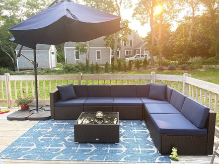 Eastham Cape Cod vacation rental - Outdoor sectional